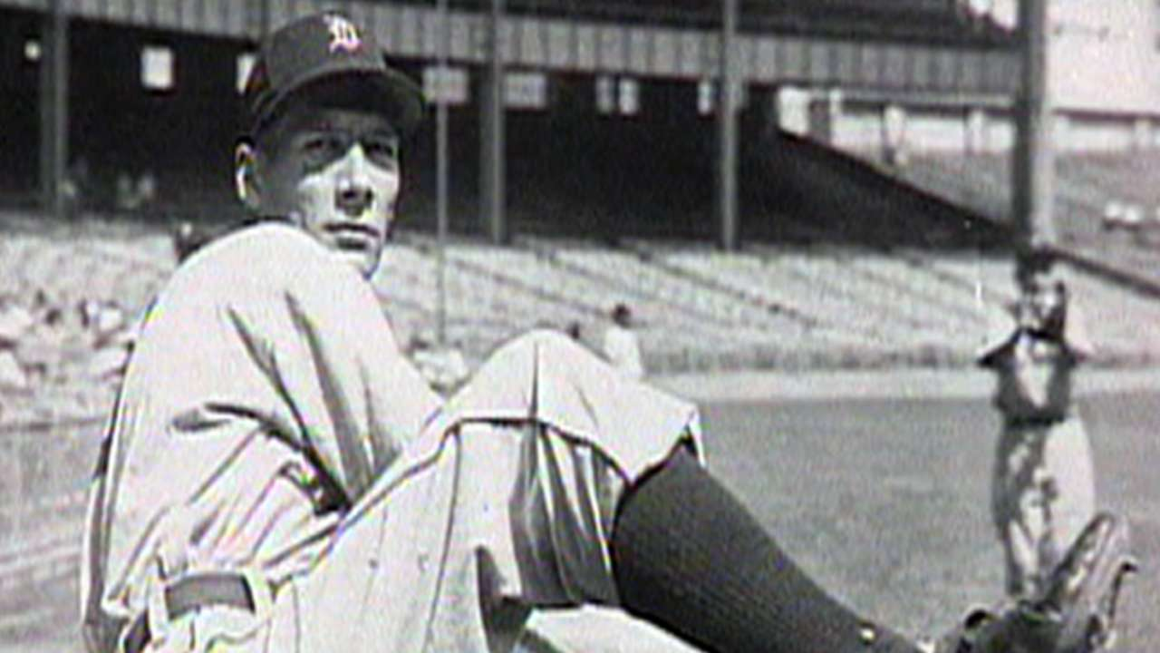 Tigers: Hal Newhouser, No. 16