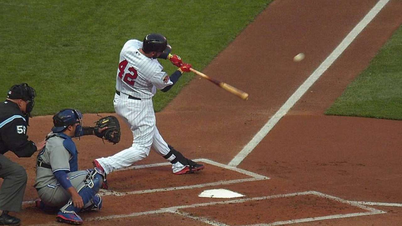 Hughes falters late as Twins stumble in opener