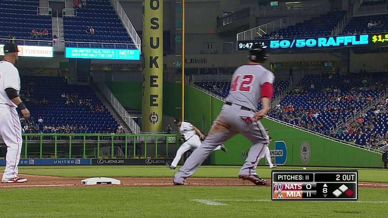 Williams appreciates Harper's boldness on bases