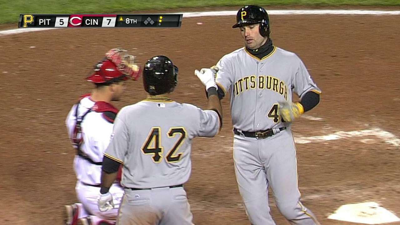 Cole allows career-high five runs as Bucs fall to Reds