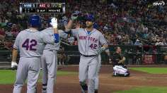 Mets respond to injuries with rout of D-backs