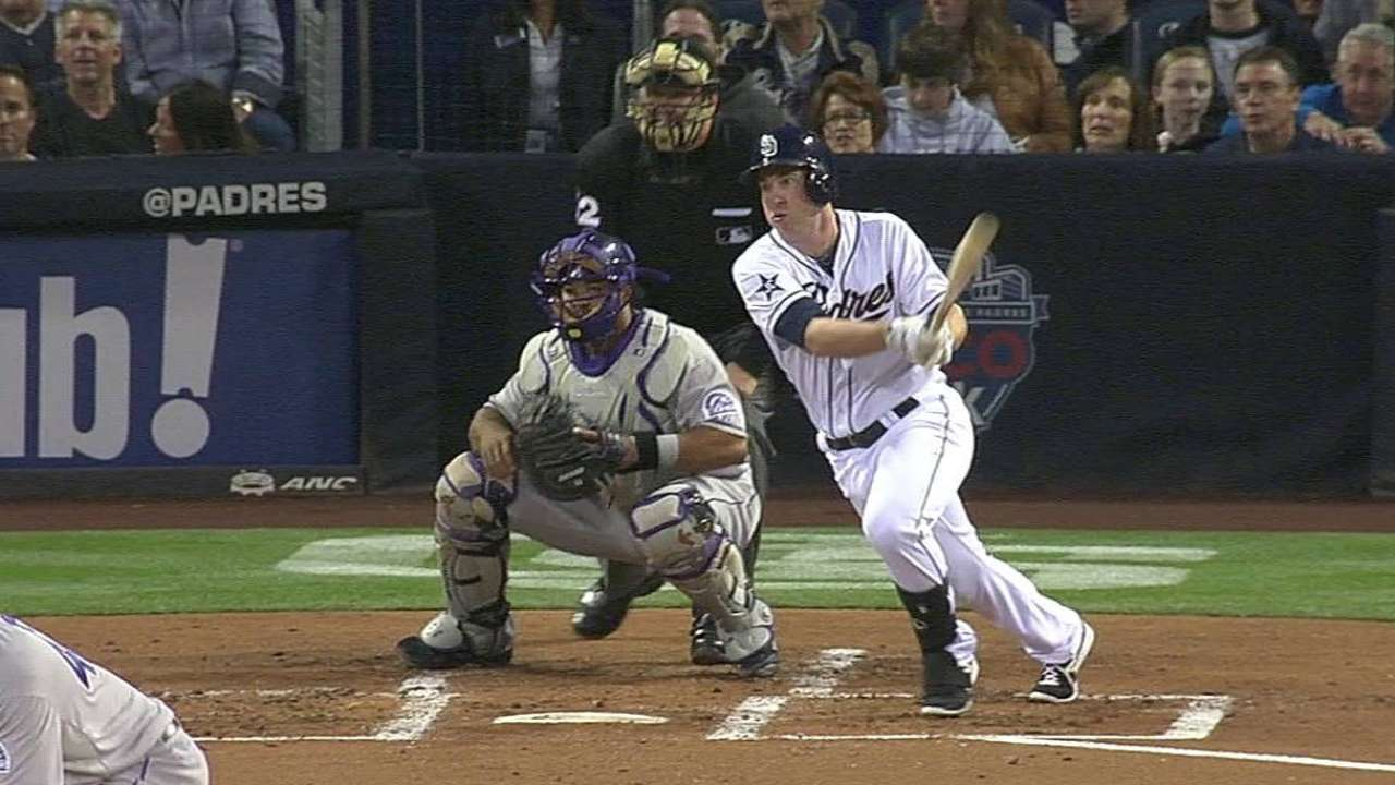 Padres give Gyorko much-needed breather vs. Giants