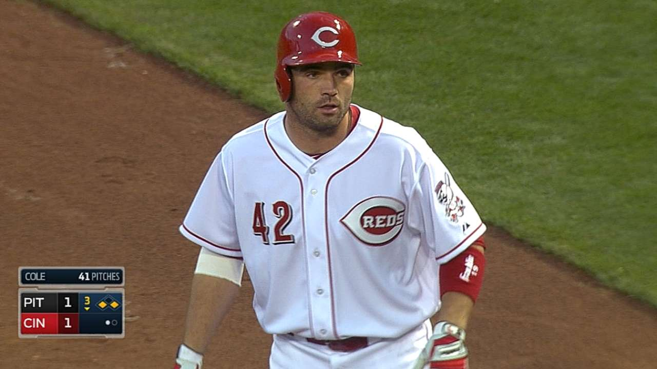 Batting Votto second sound decision by Reds