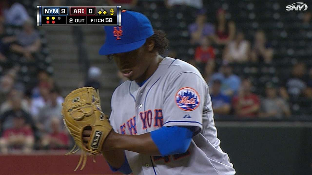 Colon fights through back ailment; Mejia coming along