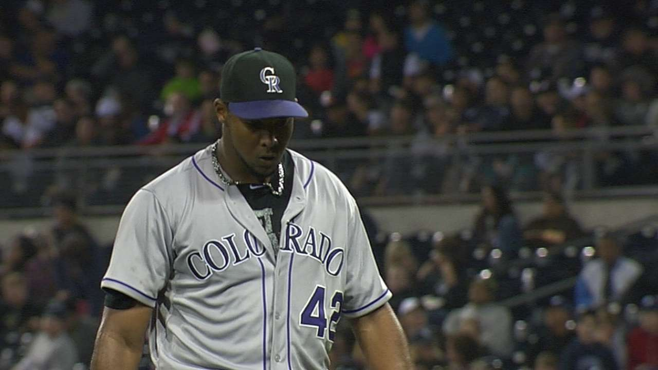 Nicasio strong after first, bullpen follows his lead