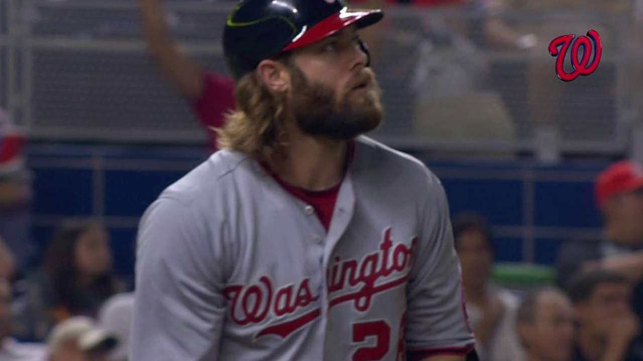Werth's tying homer confirmed by replay in Miami