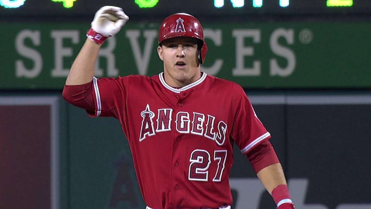 Former Angel Hunter still mentoring Trout