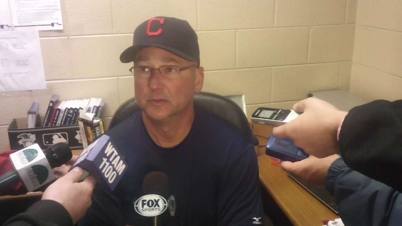 Francona reinforces belief in club with team meeting