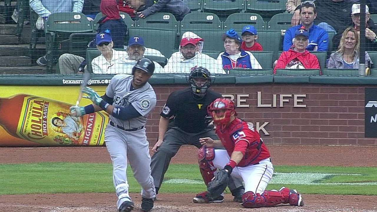 Cano belts first homer as Mariners drop Texas finale