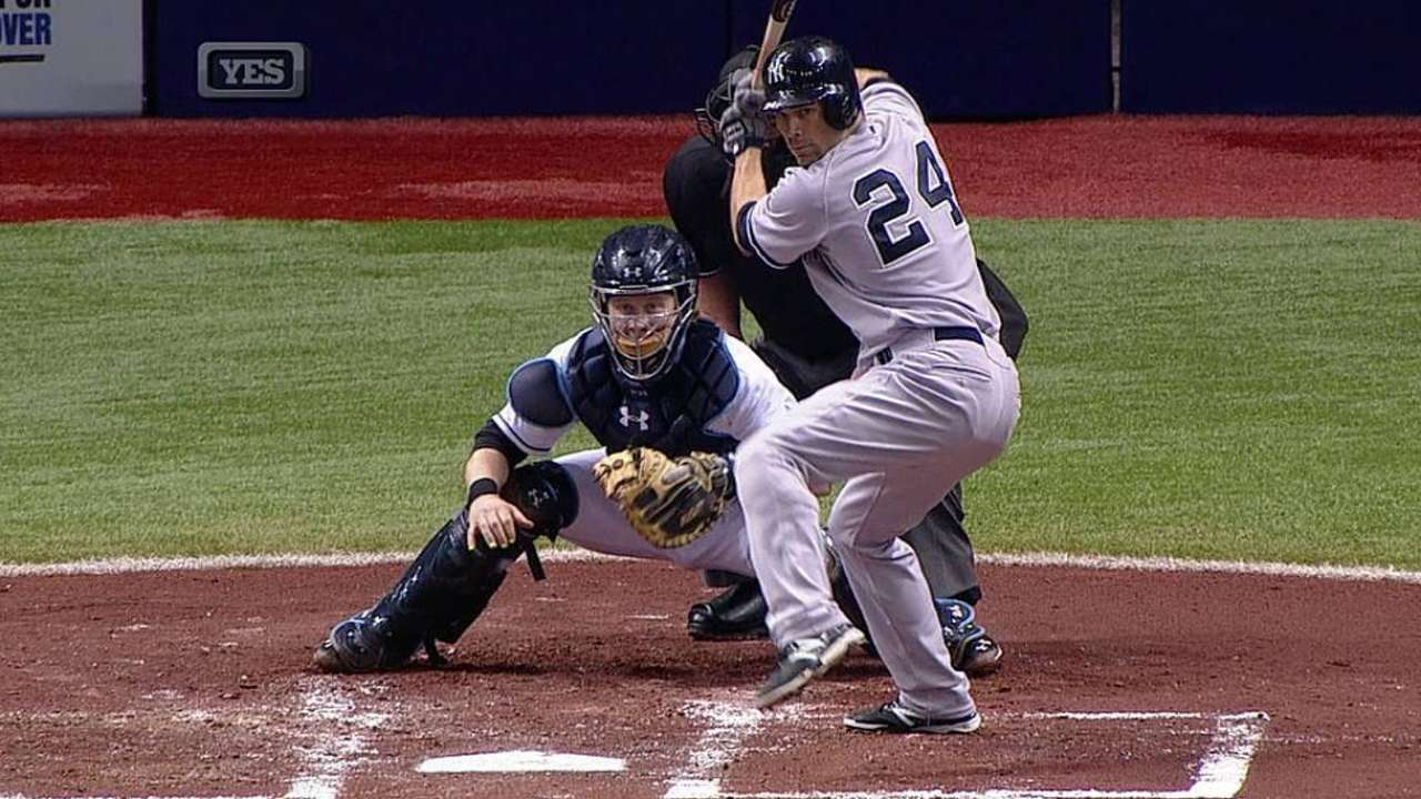 Trusted with lead, Yanks 'pen takes its lumps