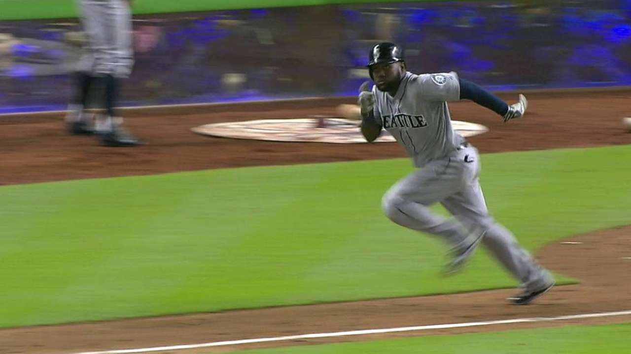 Almonte steady at the top for Mariners