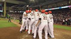 Marlins walk off on Stanton's grand slam