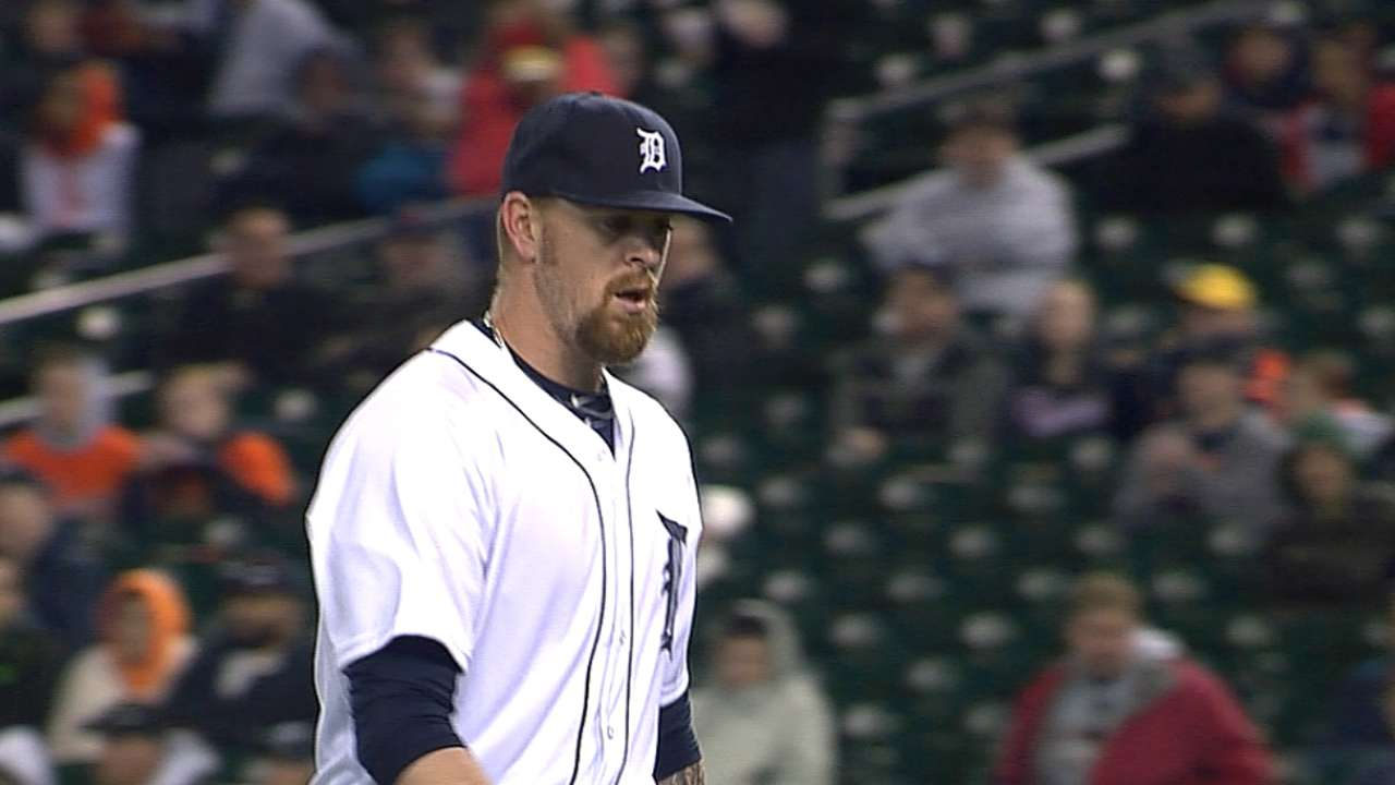 Tigers promote righty Miller to bolster bullpen