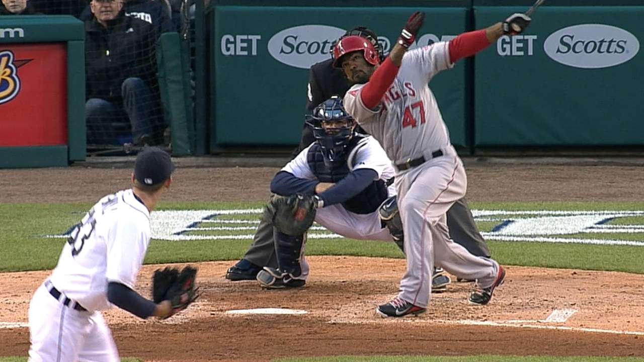 Kendrick's two HRs, Pujols' 497th lead Angels