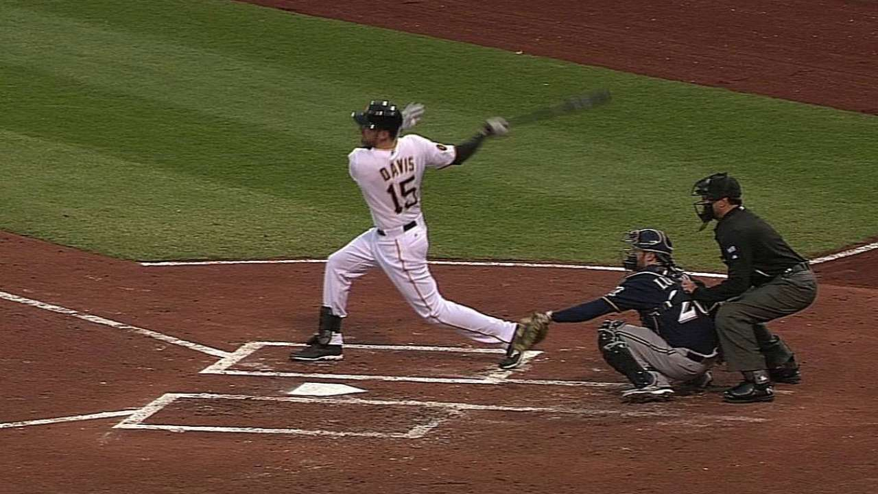 Ike gets two hits, scores twice in Pirates debut
