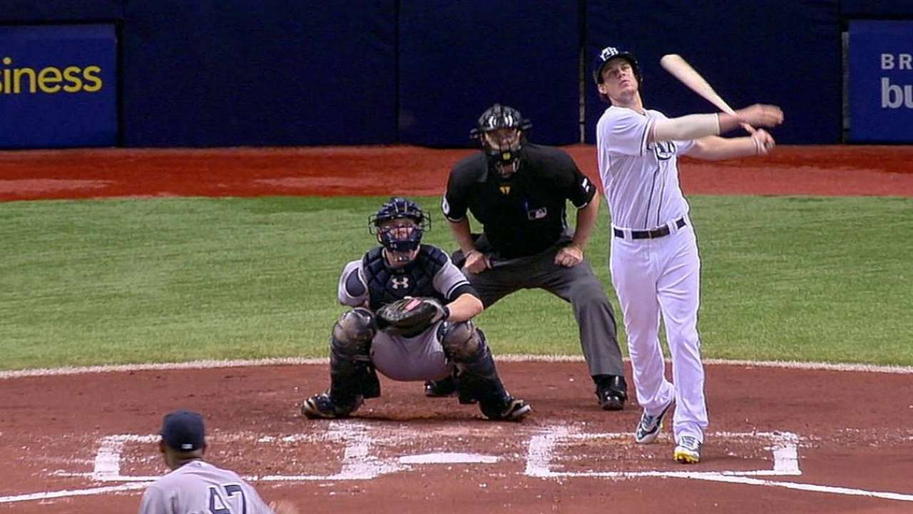Myers finally hitting his stride at plate