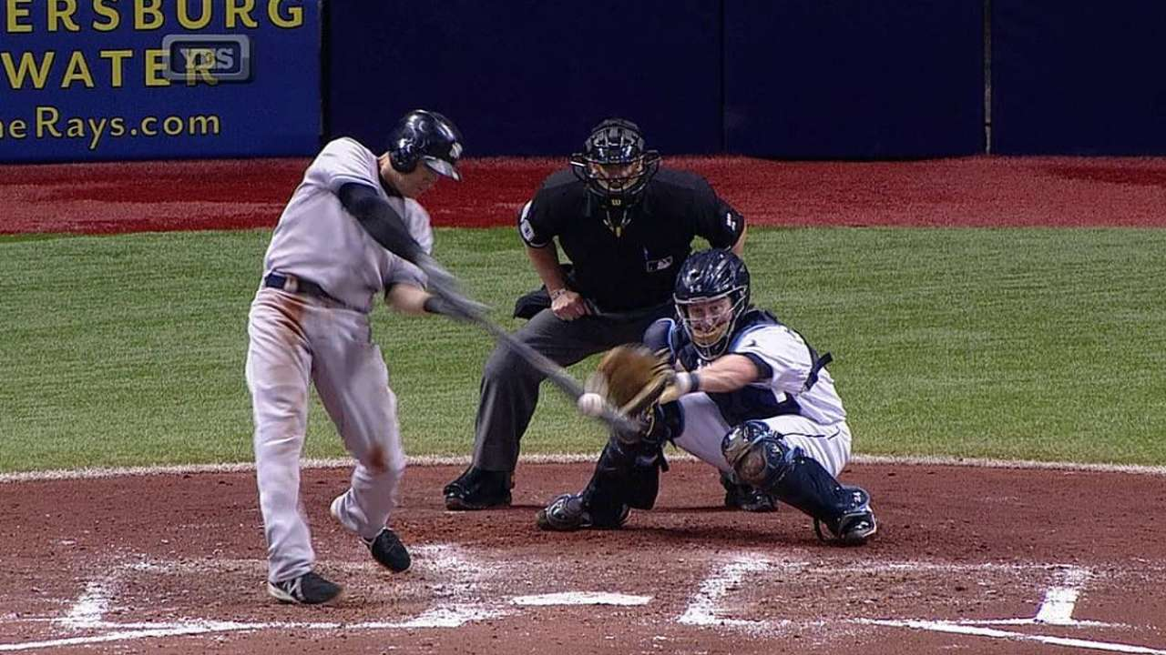 Yankees thumped by Rays' five homers