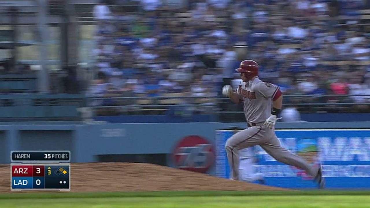 Montero remolca pero D-backs caen con Dodgers