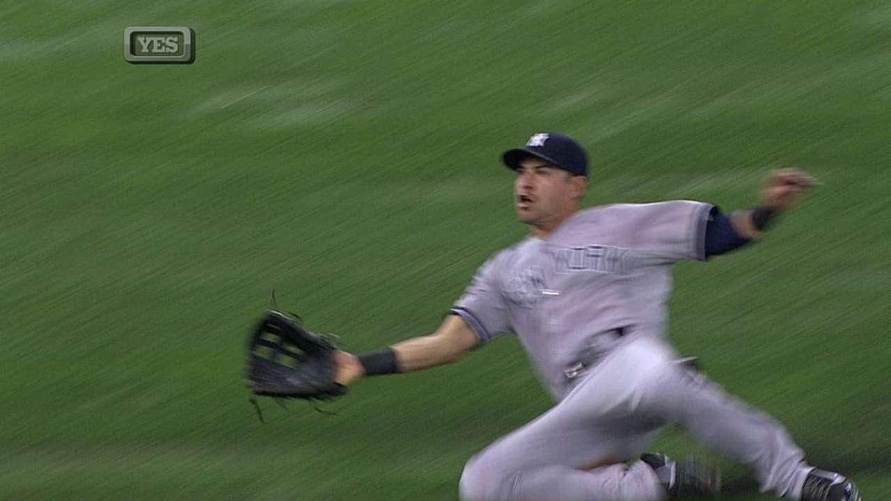Nova salió lesionado y Yankees sufrieron paliza ante T.B.