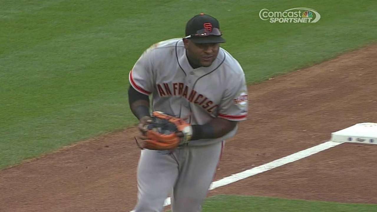 Sarah's Take: NL West is Giants' to lose