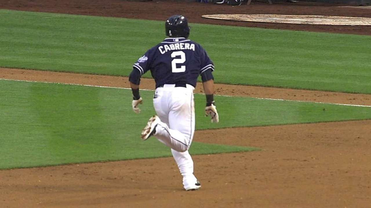 Cabrera looking to get running game going