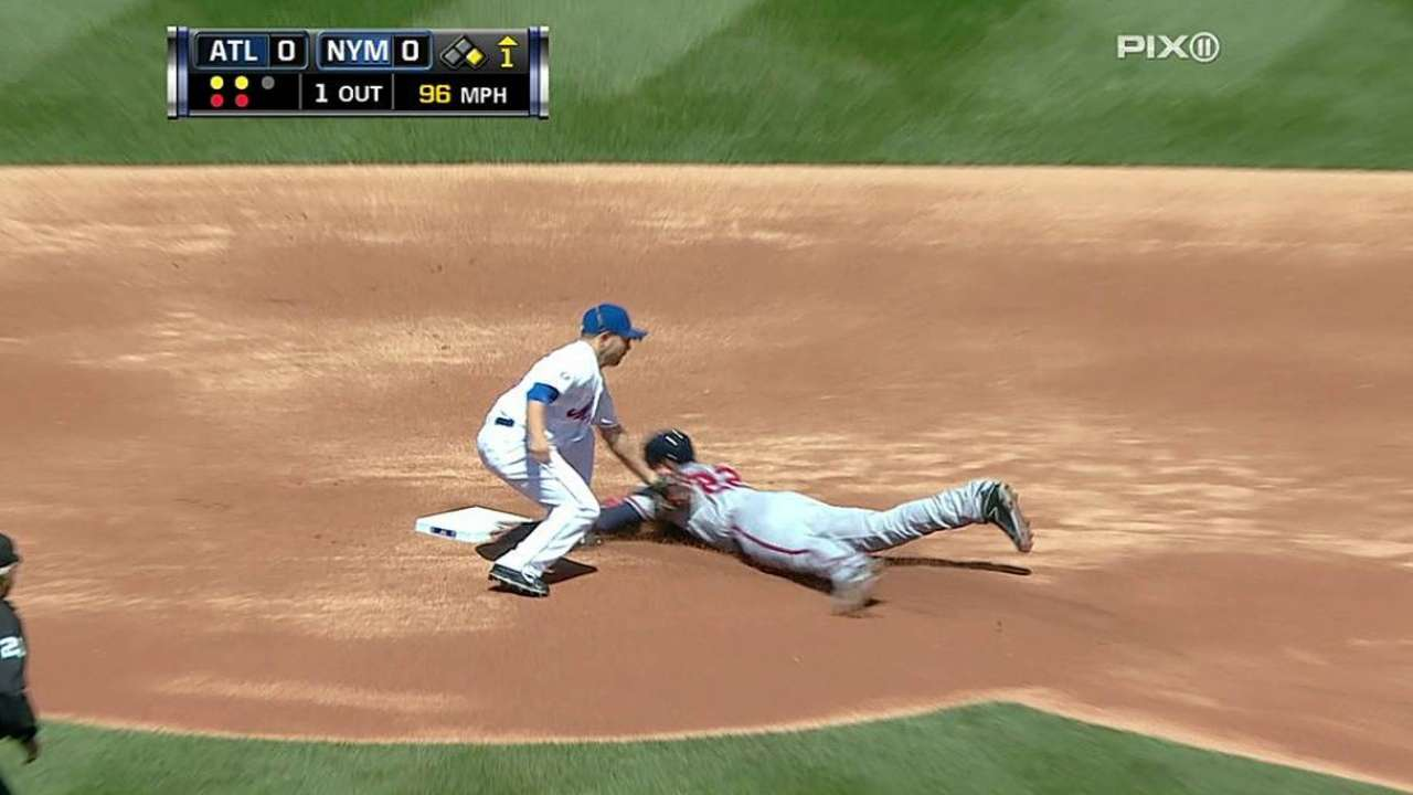 Recker's improvement shows in Mets' record