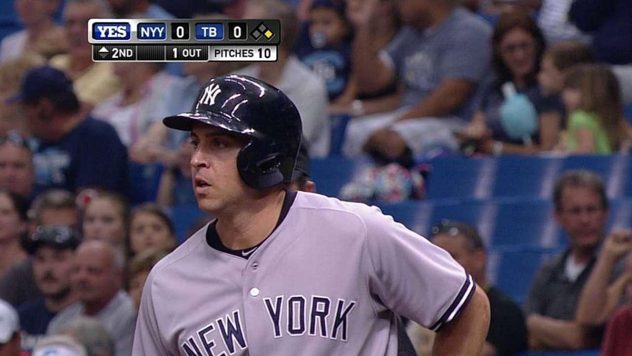 Yankees explotan en la 12ma y superan a los Rays