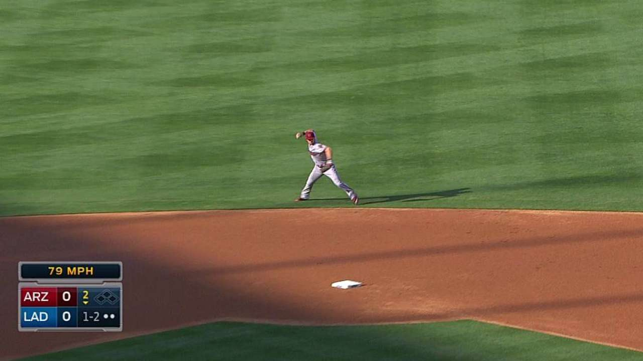 Owings excited for first game as leadoff hitter
