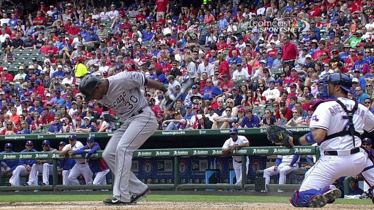 Strikeout stands after White Sox challenge