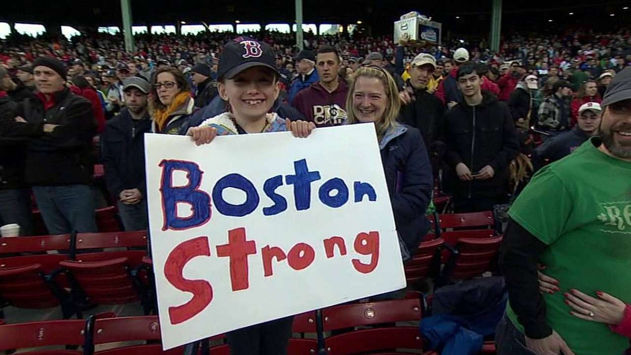 City of Boston shows its strength on Patriots Day