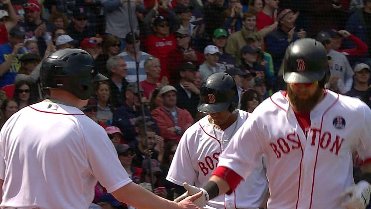 Red Sox unable to finish furious Patriots' Day rally