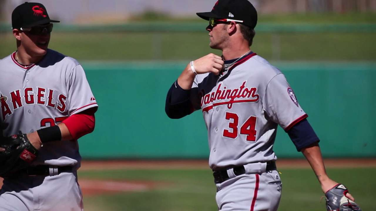 Special occasion when Trout, Harper intersect