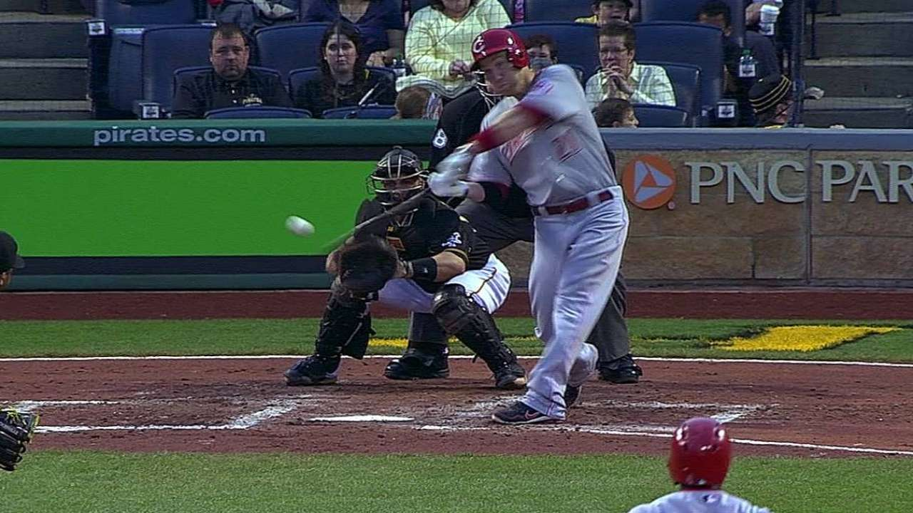 Frazier's bat heating up after rough stretch
