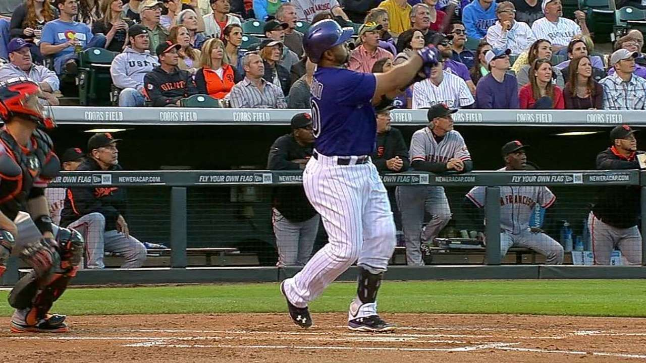 Rosario adjusts to ease burden on sore left hand