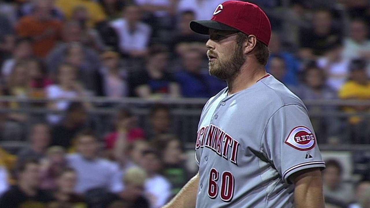 Hoover, Ondrusek among scuffling Reds relievers