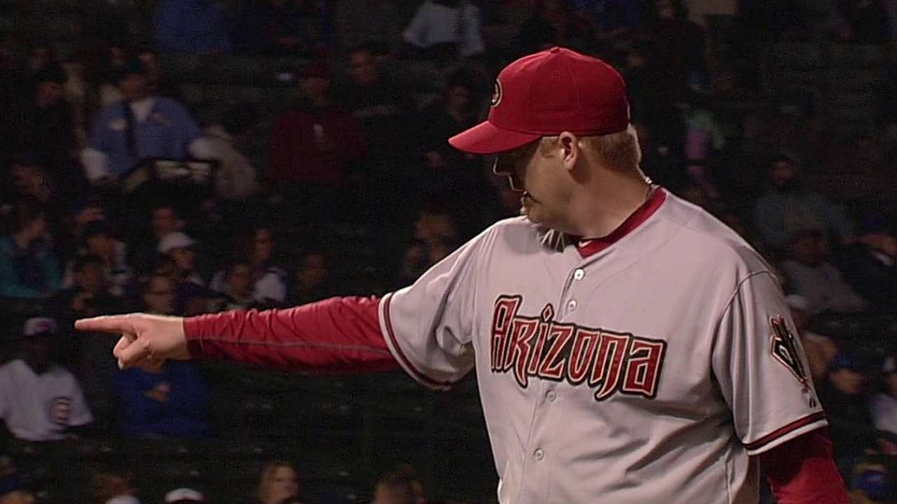 MRI on Putz's forearm reveals no damage