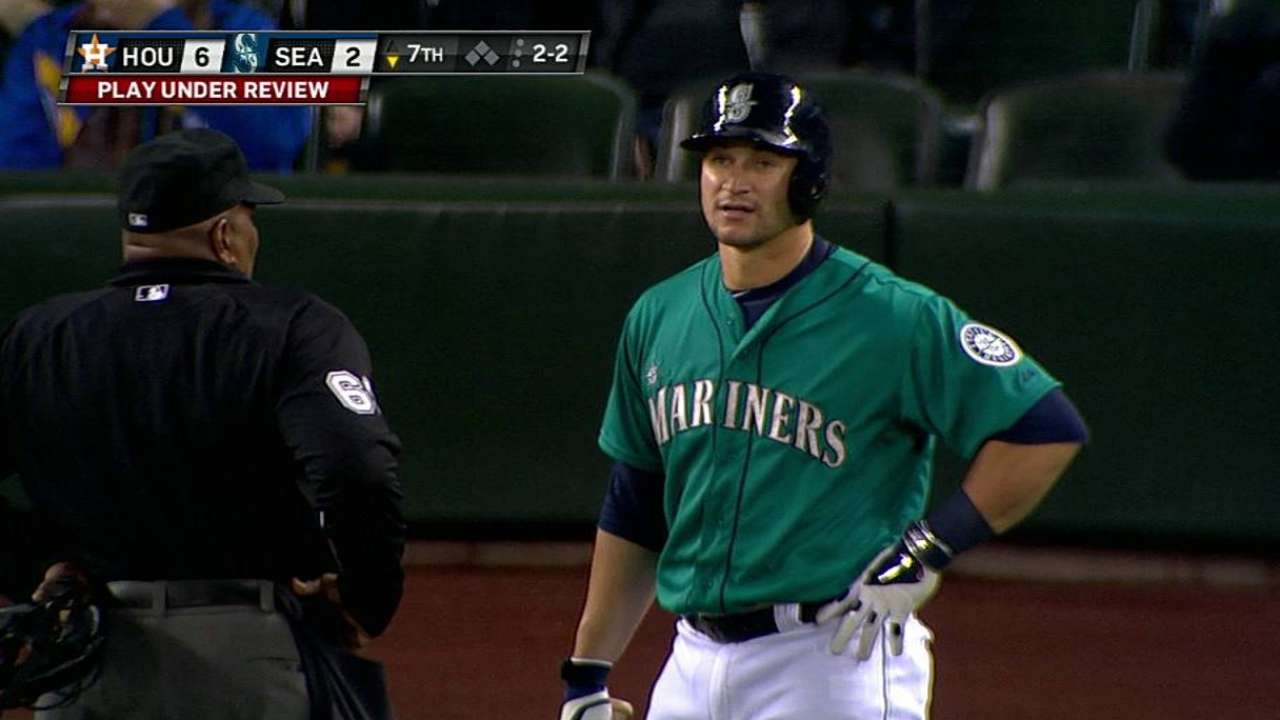 Replay confirms two calls against Mariners in opener