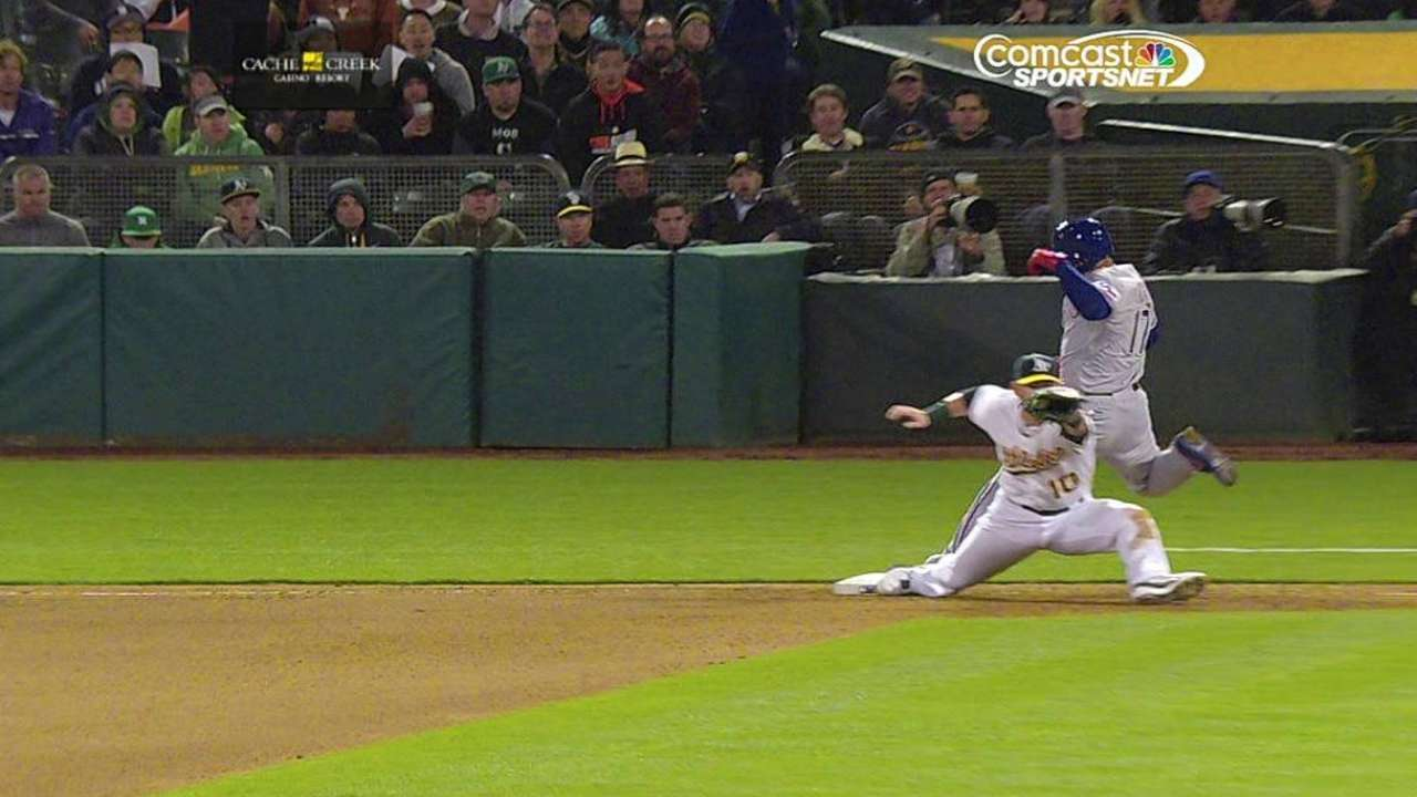 A's Melvin wins replay challenge