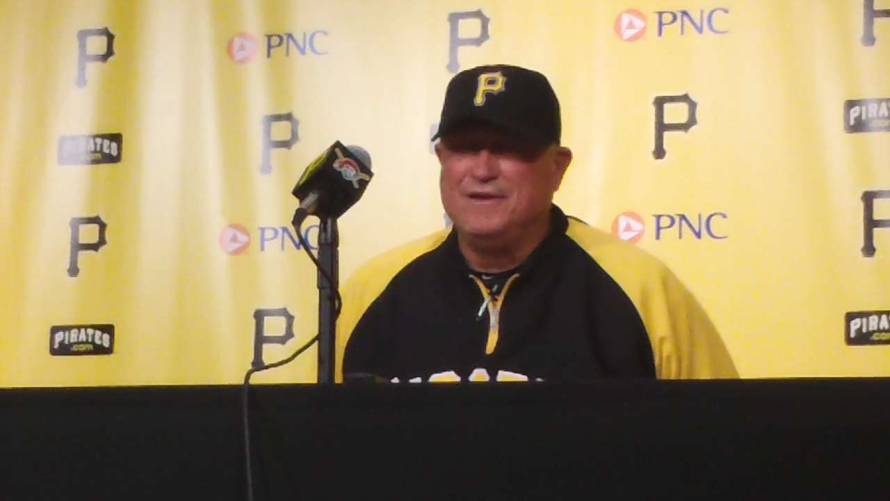Pirates' bullpen well rested for doubleheader