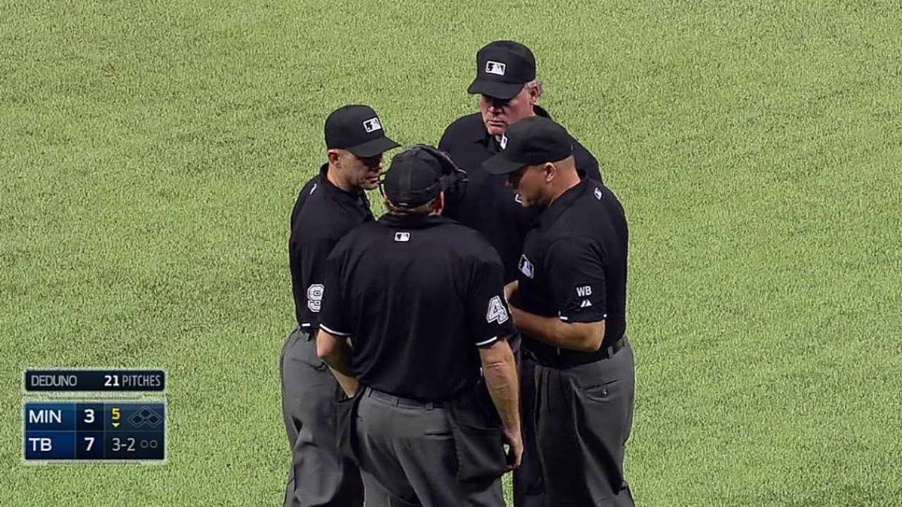 Umpires review count, but pitches don't add up