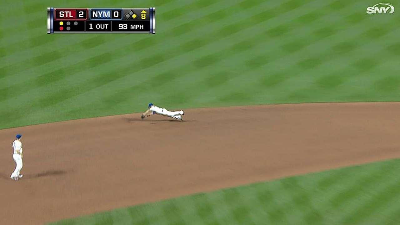 Ofensiva de Mets dominada por Wainwright y Cardenales