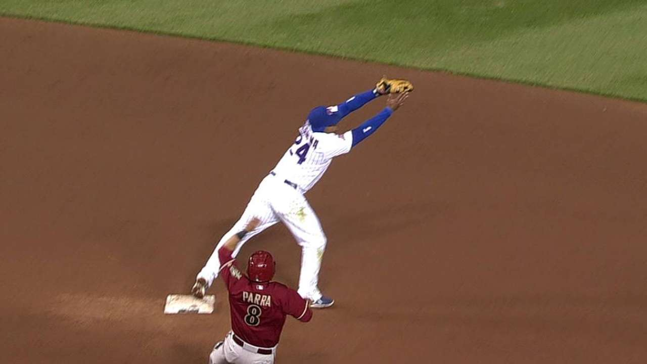 On a roll, Starlin slotted in cleanup spot