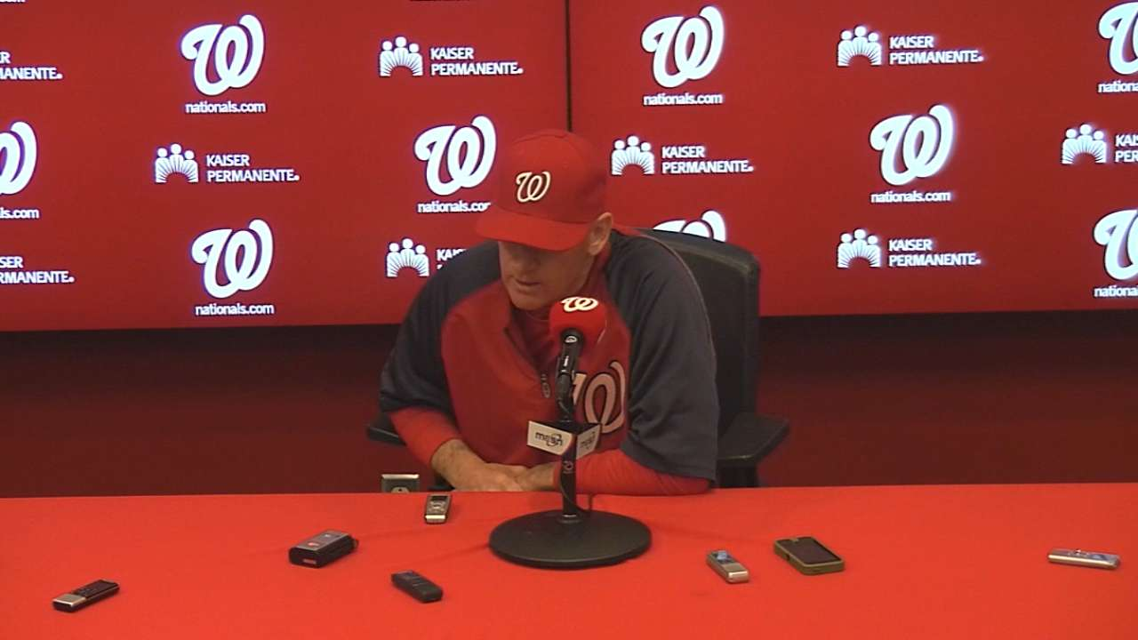 Nats put in extra work to get better in field