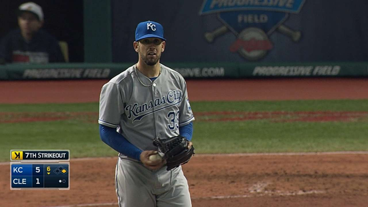 Shields continues road success in Cleveland