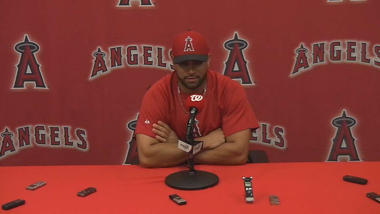 Pujols continues to be a man among men