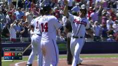 Gattis' pinch-hit heroics lift Braves over Marlins
