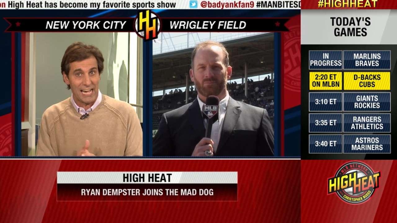 Ryan Dempster Joins High Heat