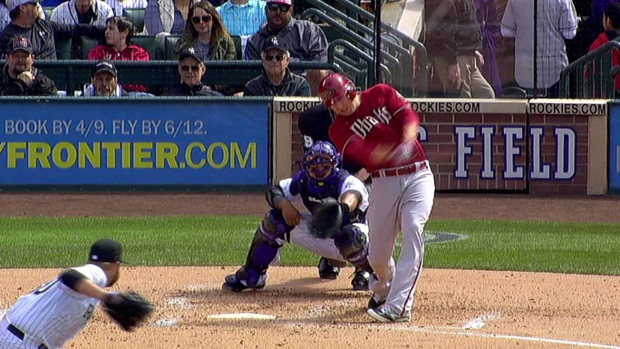 Trumbo living up to billing in Arizona