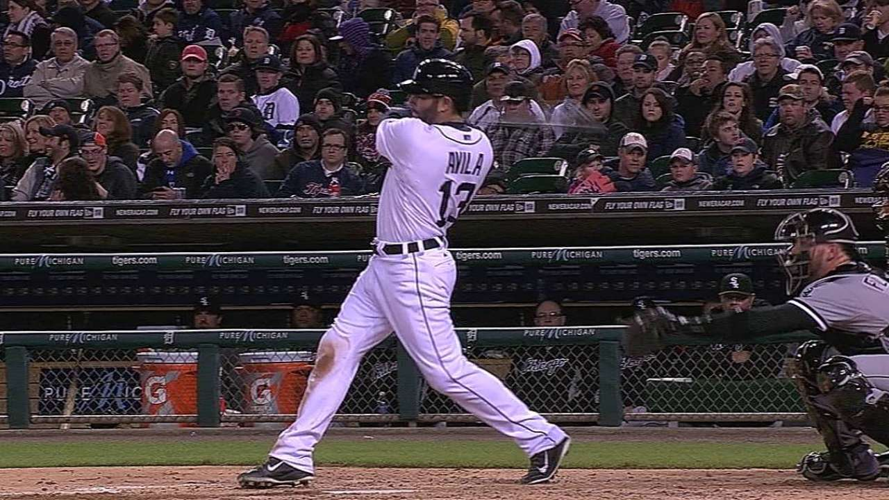 Avila looking for ways to beat defensive shifts