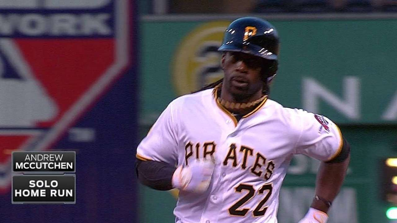 McCutchen's discipline on display for Pirates